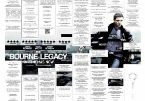 Bourne Legacy by Bonfire/MediaCom for Universal