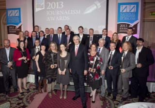 NNI Awards 2013.Picture by Shane O'Neill / Copyright Fennell Photography 2013.