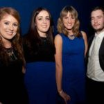 NNI Ad Awards 2012 Ciara baker, Aisling Baker, Jenna Guy, all from Mediacare with Lorcan Hanlon ?, Associated Newspapers.