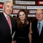 NNI Ad Awards 2012 Pictured are Matt Dempsey, Chairman, NNI; Ruth Dempsey, Kevin O'Sullivan, The Irish Times.